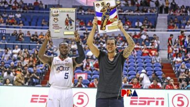 """Photo of Standhardinger on winning BPC plum: """"Honored, but I'd exchange it for one championship"""""""