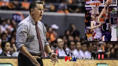 "Photo of Tim Cone on Japeth's game-saving block: ""One of the best I've seen in a long time"""
