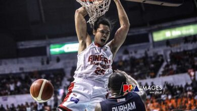 Photo of Japeth Aguilar wins 'mind games' with Allen Durham after big-time rejection